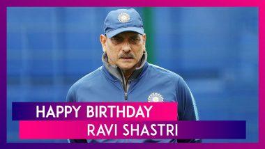Ravi Shastri Turns 59: Ajinkya Rahane, BCCI, Rishabh Pant & Others Wish Indian Coach on His Birthday