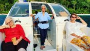 Waheeda Rehman, Asha Parekh and Helen Are BFF Goals, Check Out the Picture From Their Andaman Vacation