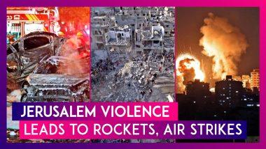 Jerusalem Protests Escalate Into Rocket Strikes & Bombings Between Israel & Hamas Across Gaza Strip