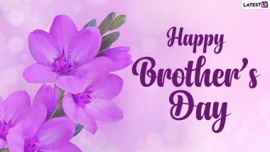 Happy Brother's Day 2021 Quotes, WhatsApp Messages, Greetings, SMS, HD Images and Wallpapers To Celebrate National Brother's Day in the US