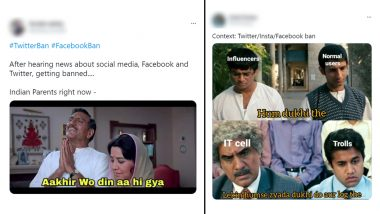Facebook, Twitter Funny Memes & Jokes Go Viral As Social Media Giants Are Likely to be Banned in India if Failed To Comply with New Govt Rules! VPN, 3 Idiots Meme Templates & More, LOL at Hilarious Posts