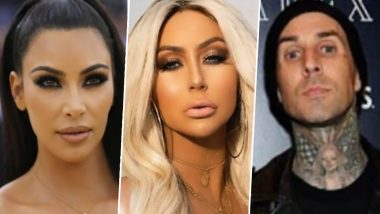 Aubrey O'Day Once Claimed That Kim Kardashian and Travis Barker Hooked Up Before Kourtney