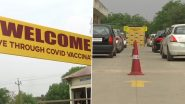 Mohali District Administration Sets Up COVID-19 Drive-Through Vaccination Centre at District Sports Complex