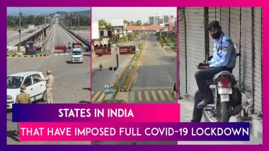 COVID-19 In India: List Of States That Have Imposed Full Lockdown Or Restrictions Amid Surge In Coronavirus Cases