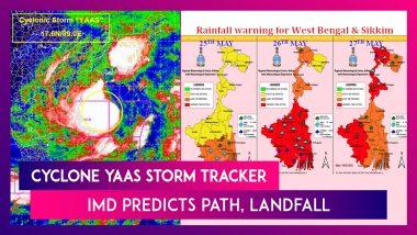 Tropical Storm Intensifies Into Severe Cyclonic Storm Yaas, IMD Predicts Path, Landfall