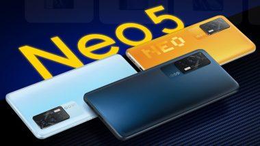 iQOO Neo 5 Vitality Edition With Snapdragon 870 SoC Launching Next Week