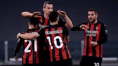 Juventus 0–3 AC Milan, Serie A 2020–21 Result: Brahim Diaz, Ante Rebic and Fikayo Tomnori Score As Milan Thrash Juve To Jump to Third in League Table