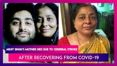 Arijit Singh's Mother Dies At 52 Due To Cerebral Stroke After Recovering From Covid-19
