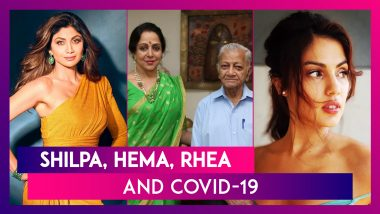 Shilpa Shetty On Staying Away From Social Media During Covid-19; Hema Malini's Secretary Dies; Rhea Chakraborty Loses Uncle To Coronavirus