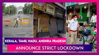 Tamil Nadu Announces Strict Lockdown From May 6; Kerala From May 4 & Andhra Pradesh From May 5; What's Allowed, What's Not