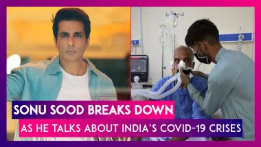 Sonu Sood Breaks Down As He Talks About India's Covid-19 Crises: 'What Country Are We Living In?'