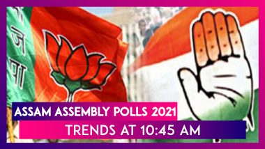 Assam Assembly Polls 2021: BJP Crosses The Half-Way Mark In Early Leads