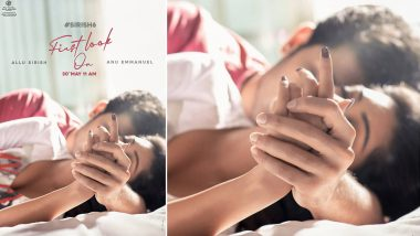 Sirish 6: Allu Sirish Shares New Poster of His Untitled Film With Anu Emmanuel (View Post)