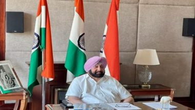 Total Lockdown Will Be Forced in Punjab if People Don't Follow COVID-19 Curbs, Says CM Amarinder Singh