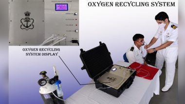 Southern Naval Command's Diving School Conceptualised & Designed 'Oxygen Recycling System' As 2nd COVID-19 Wave Batters India