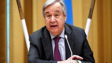 Land Degradation Undermines Well-Being of 3 Billion People: UN Secretary-General Antonio Guterres