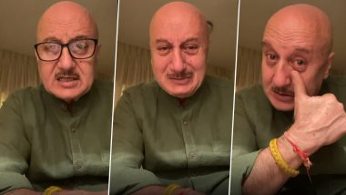 Anupam Kher Completes 37 Years in Films, Actor Credits His Debut Movie 'Saaransh' for Achieving the Milestone in His Career (Watch Video)