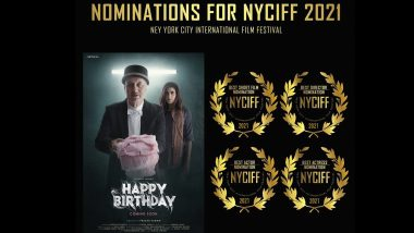 Happy Birthday: Aahana Kumra and Anupam Kher's Short Film Bags Multiple Nominations at NYCIFF