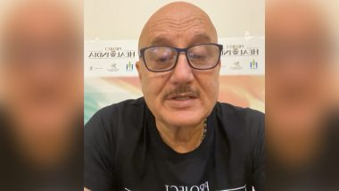 Anupam Kher on COVID-19 Efforts: Time for Government To Understand There's More to Life Than Image Building (Watch Video)