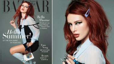 XXX OnlyFans Hottie Bella Thorne Stuns In Unique Outfits As She Features In Harper's Bazaar Magazine; See Pics