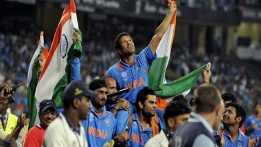 Sachin Tendulkar Terms ICC Cricket World Cup 2011 Title Win As 'Best Cricketing Day' of His Life