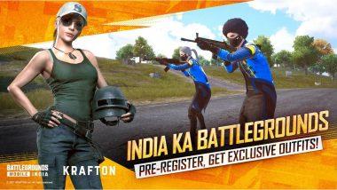 PUBG's Indian Version 'Battlegrounds Mobile India' Pre-Registration Now Open