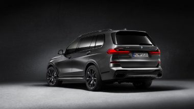 BMW X7 M50d 'Dark Shadow' Edition Launched in India at Rs 2.02 Crore