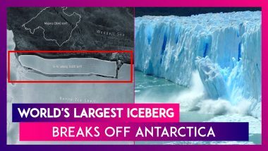World's Largest Iceberg, 'A-76' Breaks Off Antarctica, It Is Nearly Three Times The Size Of New Delhi