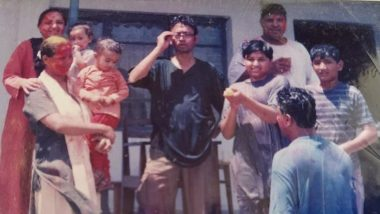 Irrfan Khan's Son Babil Khan Shares Unforgettable Holi Moments Spent With His Parents in These Throwback Pictures!