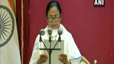Mamata Banerjee Thanks PM Narendra Modi for Congratulatory Message on Taking Oath As West Bengal CM, Says 'Look Forward to Centre's Sustained Support'