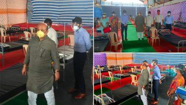 COVID-19 Surge in Karnataka: State Home Minister Basavaraj Bommai Converts His Residential Premises Into Coronavirus Care Centre (See Pics)