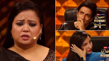 Bharti Singh Gets Teary-Eyed While Talking About Her Mother's COVID-19 Diagnosis on Dance Deewane 3 (Watch Video)