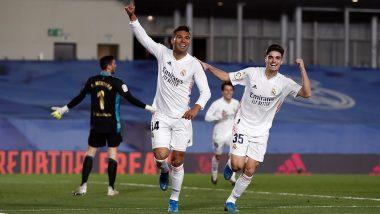 Real Madrid 2–0 Osasuna Goal Video Highlights: Eder Militao, Casemiro Strike Lead Los Blancos to Victory