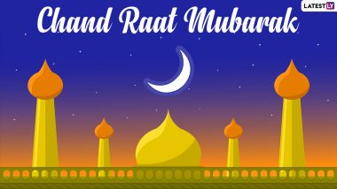 Eid Ka Chand Mubarak 2021 Wishes in Hindi and Eid al-Fitr Facebook Messages: WhatsApp Stickers, Chand Raat Signal HD Images, Happy Eid Telegram Greetings & Instagram Photos to Share on Crescent Moon Night