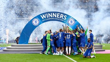 UEFA Champions League 2020-21 Final: Mason Mount, Kai Havertz, Timo Werner And Other Chelsea Players React After Winning UCL Title