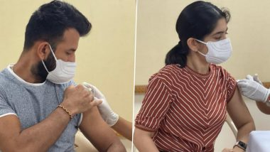 Cheteshwar Pujara, Wife Puja Receive First Dose of COVID-19 Vaccine, Urge Everyone To Get Vaccinated