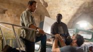 Jurassic World Dominion: Chris Pratt and Omar Sy's New BTS Pic Puts Them on a Boat and We Think They Are About To Meet Mosasaurus!