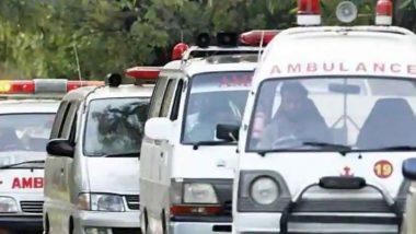 Ambulance Gets Stuck During President's Visit, Injured Worker Carried on Stretcher