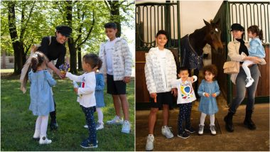 Stylish Georgina Rodriguez Has a Fun Day With Her Kids, Says, 'Mom' Is My Favorite Name (View Pics of Cristiano Ronaldo's Adorable Family)