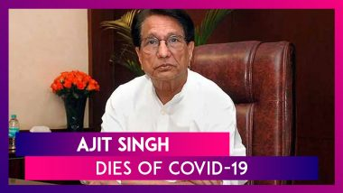 Ajit Singh, Former Union Minister & RLD Chief, Dies Due To COVID-19 Related Complications, PM Modi, Rahul Gandhi Condole His Death