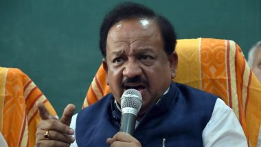 COVID-19 Vaccination in India: Health Minister Dr Harsh Vardhan Asks States to Avoid Politics and Better Plan Inoculation Drive