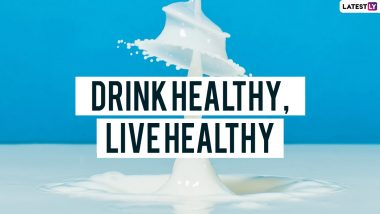 World Milk Day 2021 Slogans and Quotes: Best Sayings and WhatsApp Messages To Spread the Goodness of Milk on June 1