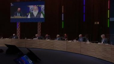 PM Narendra Modi Virtually Participates As Special Invitee in Meeting of European Council