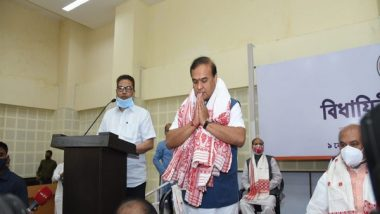 India News   Assam Cabinet to Take Oath at 12 Noon on Monday: Himanta Sarma