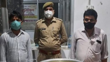 20 Kg Rasgullas Confiscated! Two Arrested by Hapur Police for Celebrating UP Gram Panchayat Election Victory by Distributing Sweets and Violating Section 144