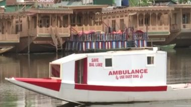 Kashmiri Man Sets Up Floating Ambulance on Shikara to Help People Amid COVID-19 Crisis, See Pics