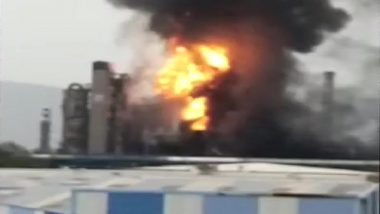 Blast at HPCL Plant in Visakhapatnam Causes Massive Fire, See Pics