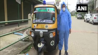 Lions Club of Gauhati Adds More Auto Ambulances with Oxygen Cylinder to Serve COVID-19 Patients