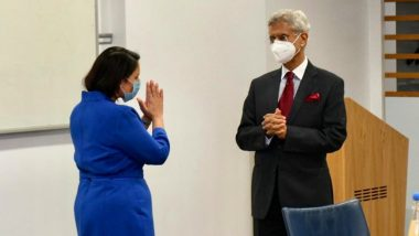 EAM S Jaishankar Meets UK Minister Priti Patel in London to Sign Migration and Mobility Partnership Agreement Between India and Britain