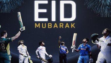Eid Mubarak: ICC Puts Up An Amazing Post Featuring Virat Kohli, Babar Azam & Others for Wishing Fans